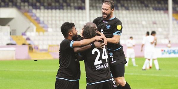 Trabzon'a Şimşek Çaktı: 4-1