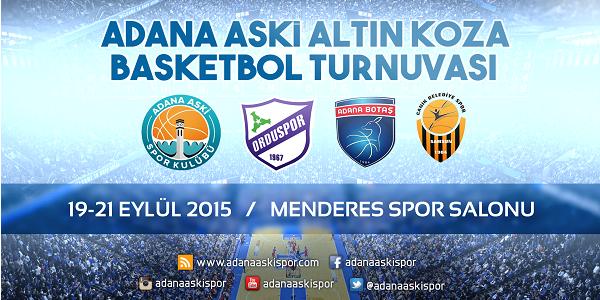 Adana'da Altın Koza Basketbol Turnuvası