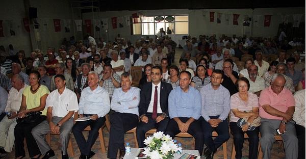 CHP Pozantı'da Şenol Eroğlu güven tazeledi