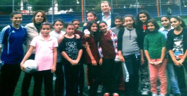 Çukurova Belediyespor futbolda büyüyor