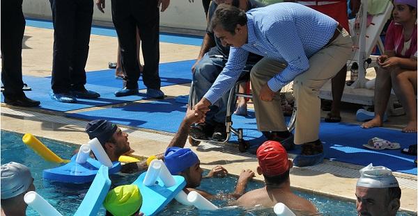 Çukurova'da Engellilere Özel Havuz