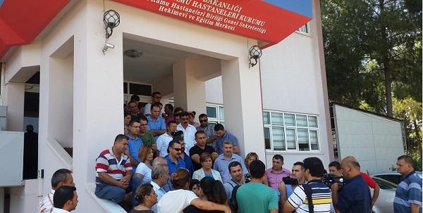 Adana Hekimevi'nin kapatılmasına tepki