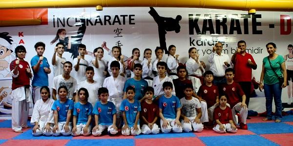 Karateciler İddialı