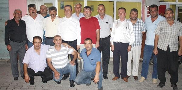 CHP Adayı Devecioğlu'na muhtar desteği
