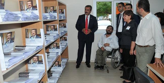 Türkiye'nin İlk ve Tek Engelli Kütüphanesi