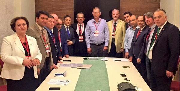 TGF'de Genel BaşkanYılmaz Karaca