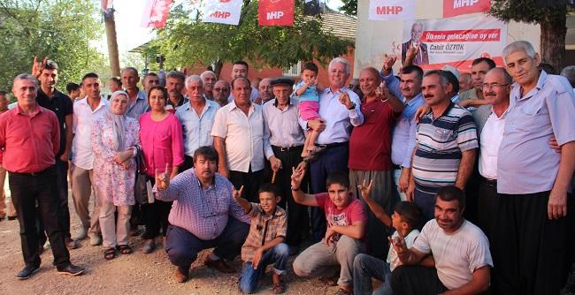 Öztok'tan köylere çıkarma