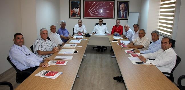 Adana CHP İl Seçim Komitesi toplandı
