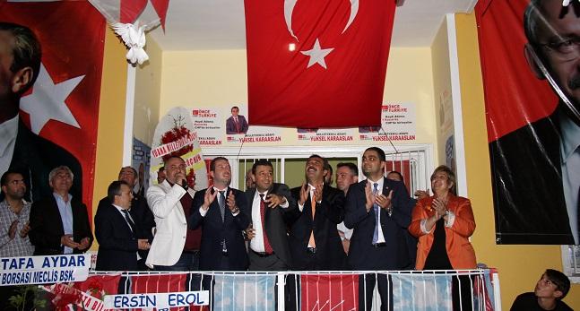 CHP'de küskünlüğe, dargınlığa yer yok!
