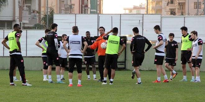 Adanaspor'da Samsunspor hazırlıkları