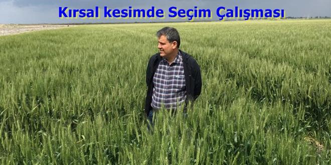 CHP Adana'da kırsalda