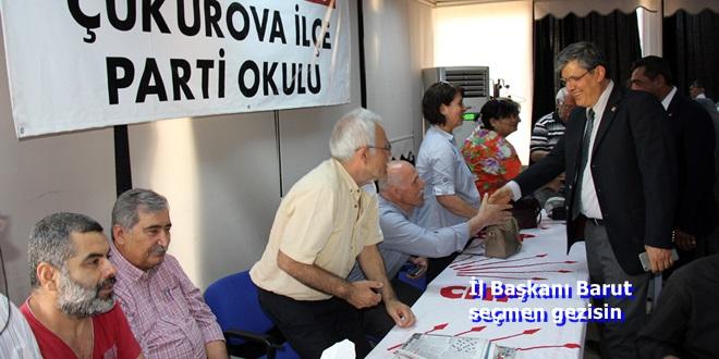 Adana CHP'de Baskın Seçim Hazırlığı