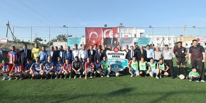 Mahalleler Arası Halı Saha Futbol Turnuvası