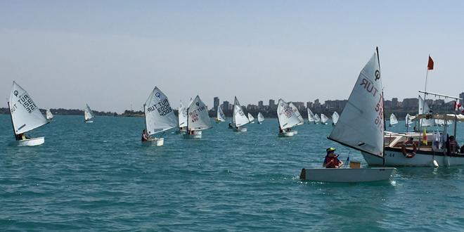 Seyhan'da Yelken Şampiyonası