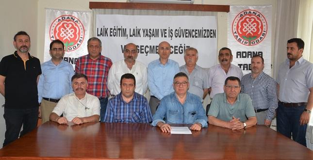 Adana'da Laiklik Mitingi