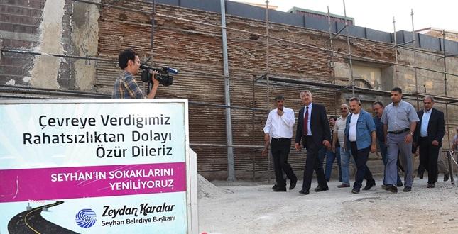 Tepebağ'da 'restorasyon' başladı