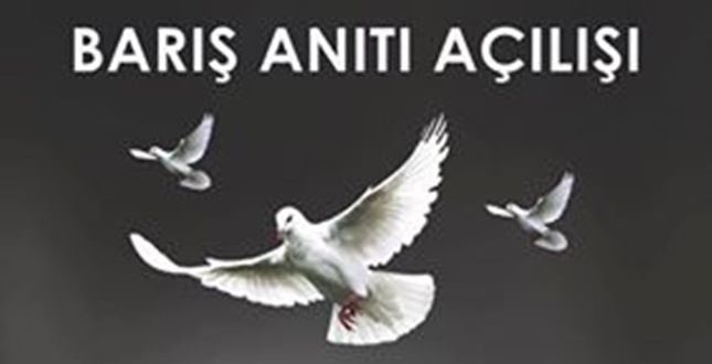 "Adana'da ""Barış Anıtı"""
