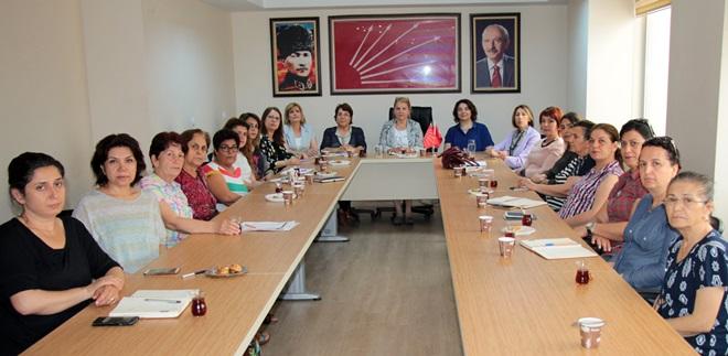 CHP'de Kadın Dayanışması