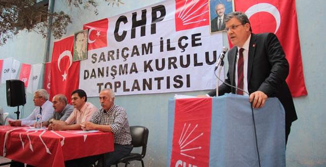 """""""Sarıçam, CHP'nin dördüncü kalesi olacak"""""""