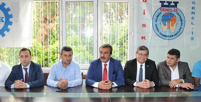 DİSK'ten Çetin'e Tam Destek