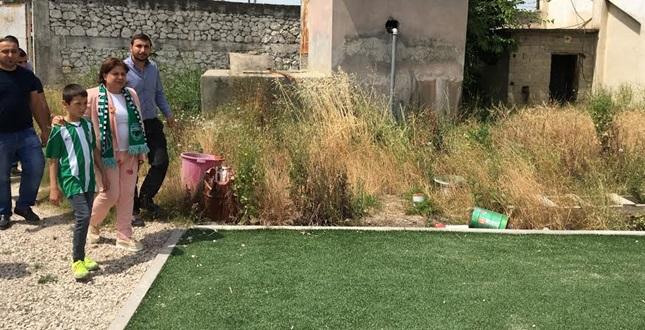 """""""Stadı İncir Bahçesine Çevirdiler"""""""