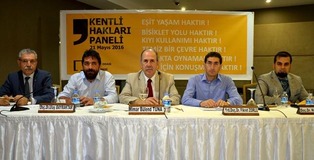 Adana'da Kentli Hakları Paneli