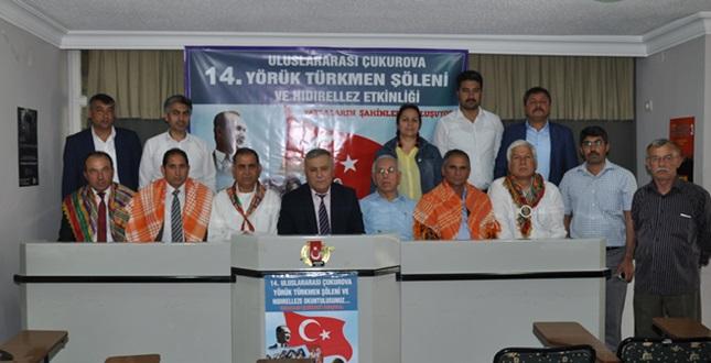14. Uluslararası Çukurova Yörük Türkmen Şöleni başlıyor