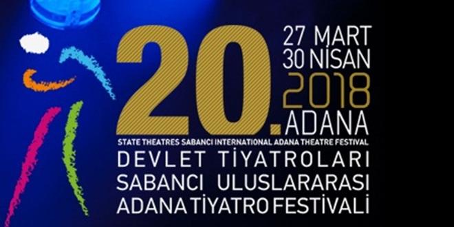 20. SABANCI ULUSLARARASI ADANA TİYATRO FESTİVALİ BAŞLIYOR