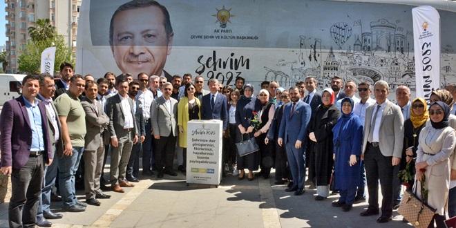 AKP'NİN ŞEHRİM 2023 OTOBÜSÜ ADANA'DA