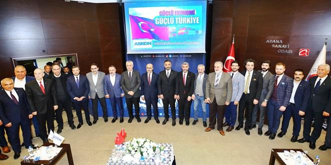 CHP'Lİ TÜMER ASKON TOPLANTISINDA