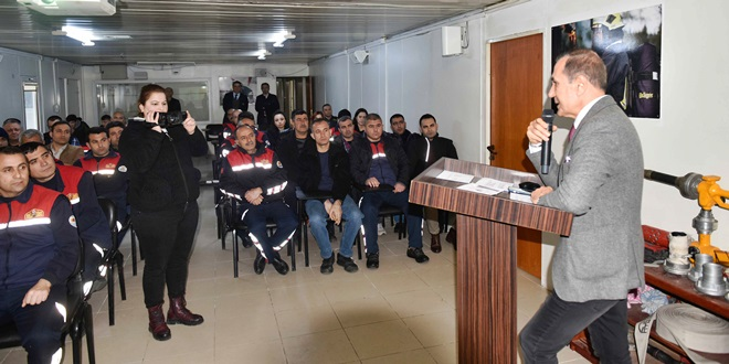"""""""İLETİŞİM, STRESLE BAŞA ÇIKMA VE MADDE BAĞIMLILIĞI"""" EĞİTİMİ…"""