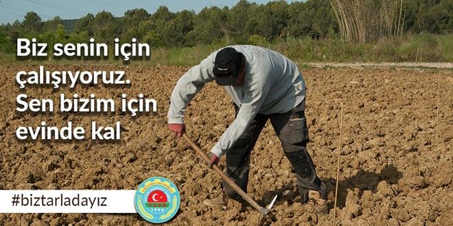 """""""BİZ SENİN İÇİN TARLADAYIZ SEN EVDE KAL TÜRKİYEM"""""""