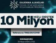 ÇKA'DAN DAVİD-19 İLE MÜCADELEYE 10 NİLYONLUK DESTEK
