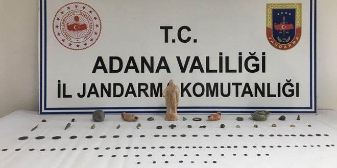 JANDARMA'DAN MİSİS'TE  TARİHİ ESER OPERASYONU