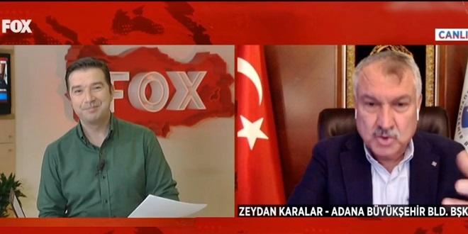 CHP'Lİ ZEYDAN KARALAR BEDAVA EKMEK DAĞITIMINI FOX TV'DE ANLATTI