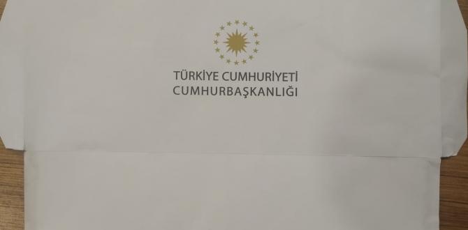 CUMHURBAŞKANI ERDOĞAN'DAN BAYRAM KARTI