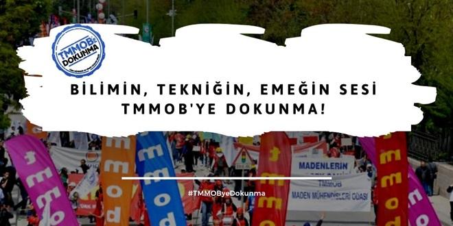 """MMO ŞUBELERİNDEN """"TMMOB KANUNU'NU DEĞİŞTİRME GİRİŞİMİ""""NE ORTAK TEPKİ"""