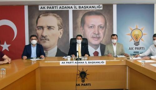 AK PARTİ ADANA'DA 300 BİN ÜYE HEDEFLİYOR