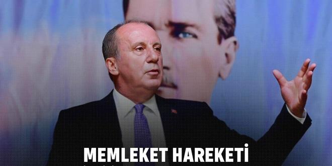"""MUHARREM İNCE'DEN """"1000 GÜNDE MEMLEKET HAREKETİ"""""""