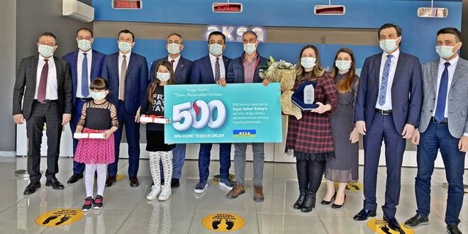 AKSA DOĞALGAZ ÇUKUROVA'DA 500 BİN ABONEYE ULAŞTI