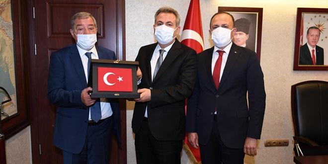 TÜRK-İŞ'TEN VALİ ELBAN'A ZİYARET