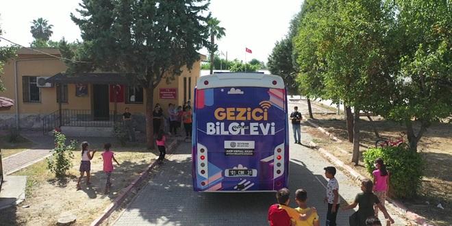 """SEYHAN BELEDİYESİ'NDEN """"GEZİCİ BİLGİ EVİ"""""""